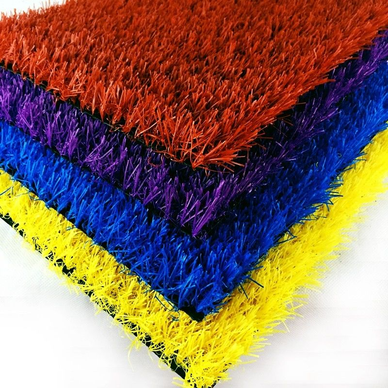 Luxury Synthetic Turf Grass /  Commercial Fire Retardant Artificial Grass